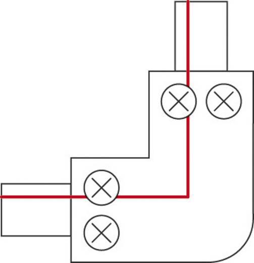 Hochvolt-Schienensystem-Komponente Eckverbinder SLV 1phasig 143061 Weiß