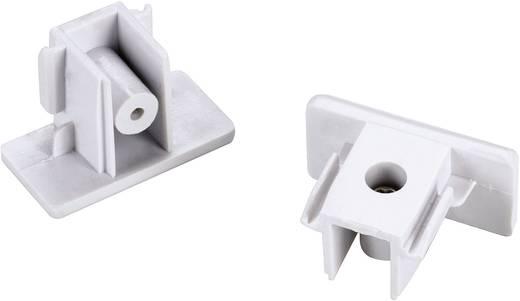 Hochvolt-Schienensystem-Komponente Endkappe 2er Set SLV 1phasig 143131 Weiß