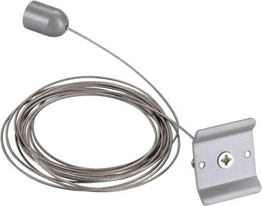 Hochvolt-Schienensystem-Komponente Seilabhängung SLV 1phasig 143142 Silber-Grau