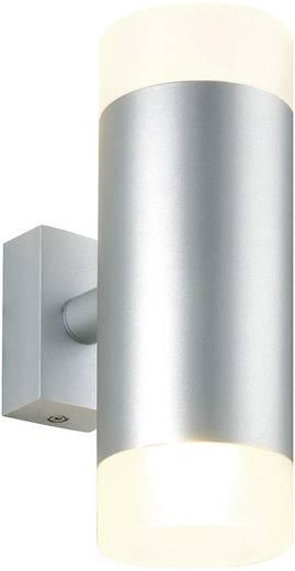 Wandleuchte GU10 100 W Halogen SLV Astina Up/Down 151901 Silber, Weiß