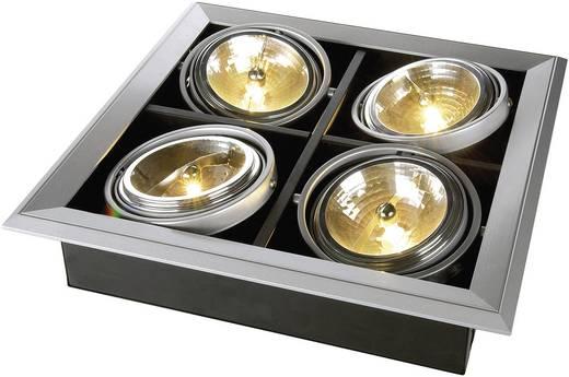 Einbauring Halogen G5.3 200 W SLV 154042 Aixlight Mod 1 Silber-Grau