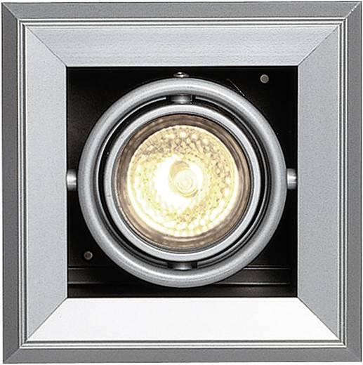 Einbauring Halogen GU5.3 50 W SLV 154112 Aixlight Mod 1 Silber-Grau