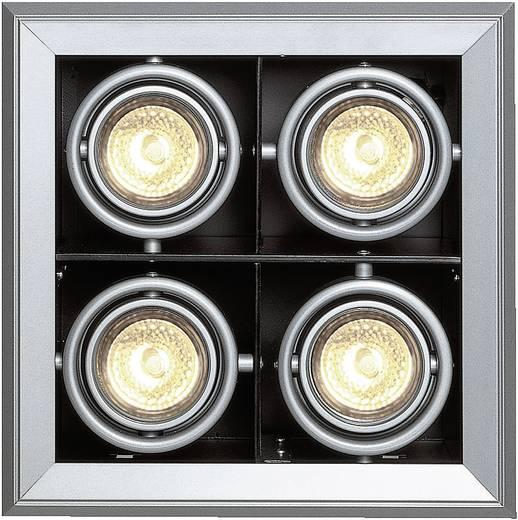 Einbauring Halogen GU5.3 200 W SLV 154142 Aixlight Mod 1 Silber-Grau