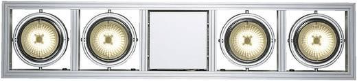 Pendelleuchte Halogen G53 200 W SLV Aixlight Long 154202 Silber-Grau