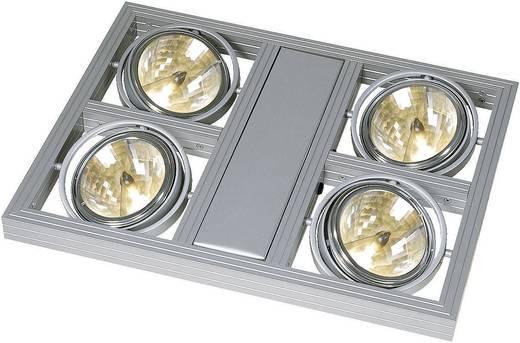 Pendelleuchte Halogen G53 200 W SLV Aixlight Square 154212 Silber-Grau