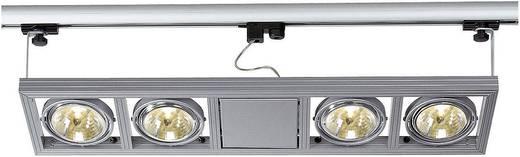 SLV Hochvolt-Schienensystem Hochvolt-Schienensystem-Leuchte Kardatrack 154512 Silber-Grau GU5.3