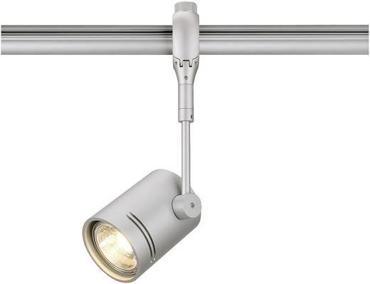 Hochvolt-Schienensystem-Leuchte Easy Tec II Silber GU10 50 W SLV BIMA I Silber
