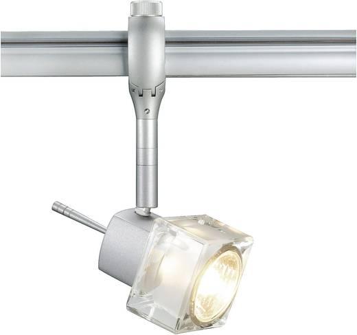 Hochvolt-Schienensystem-Leuchte Easy Tec II Silber GU10 50 W SLV Blox Silber-Grau