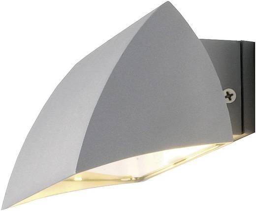 Außenwandleuchte Halogen R7s 100 W SLV Nova 227032 Silber-Grau