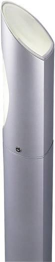 Außenstandleuchte Energiesparlampe E27 15 W SLV Ova 228612 Silber-Grau