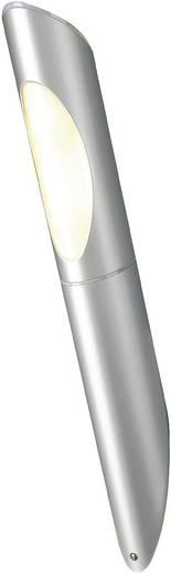 Außenwandleuchte Energiesparlampe, LED E27 15 W SLV Ovis 228762 Silber-Grau