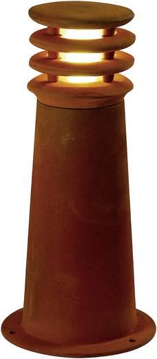 Außenstandleuchte Energiesparlampe E27 11 W SLV Rusty Round 40 229020 Eisen (gerostet)
