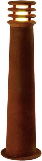 Außenstandleuchte Energiesparlampe E27 11 W SLV Rusty Round 70 229021 Eisen (gerostet)