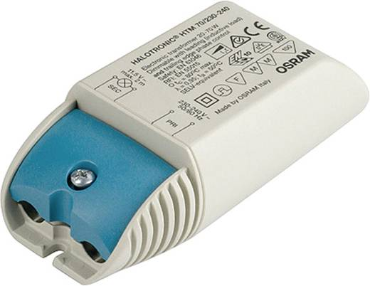 Halogen Transformator OSRAM 461075 12 V 20 - 70 W dimmbar mit Phasenabschnittdimmer, dimmbar mit Phasenanschnittdimmer