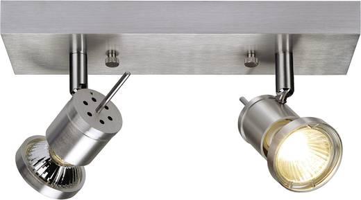 Deckenstrahler Halogen GU10 150 W SLV Asto Spot II 147442 Aluminium (gebürstet)