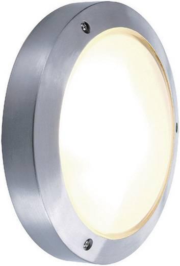 Außenwandleuchte Energiesparlampe, LED E14 60 W SLV Bulan 229072 Silber