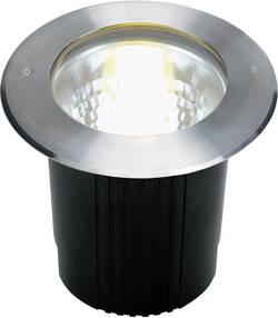 Image of Außeneinbauleuchte E27 Energiesparlampe 11 W SLV Dasar 229200 Edelstahl