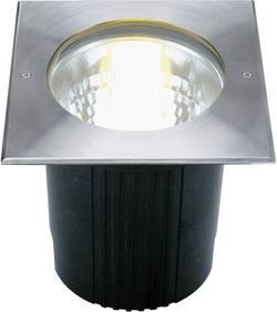 Image of Außeneinbauleuchte E27 Energiesparlampe 11 W SLV Dasar 229204 Edelstahl