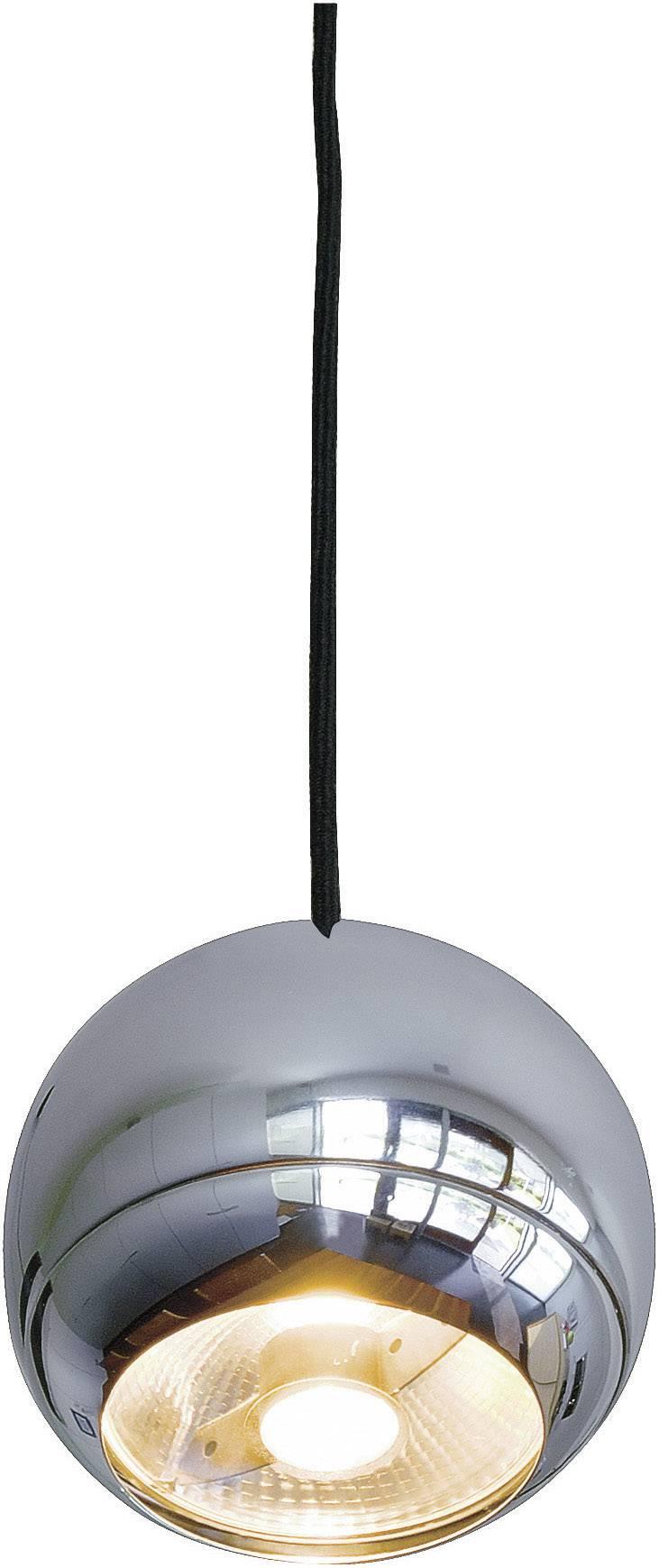 SLV Light Eye 133482 Pendelleuchte Energiesparlampe GU10 EEK: abhängig v. Leuchtmittel (A++ E) 75 W Chrom
