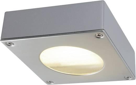 Außenwandleuchte Energiesparlampe, LED GX53 9 W SLV Quadrasyl 111482 Silber-Grau
