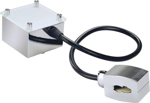 Hochvolt-Schienensystem-Komponente Einspeiser SLV 185002 Chrom