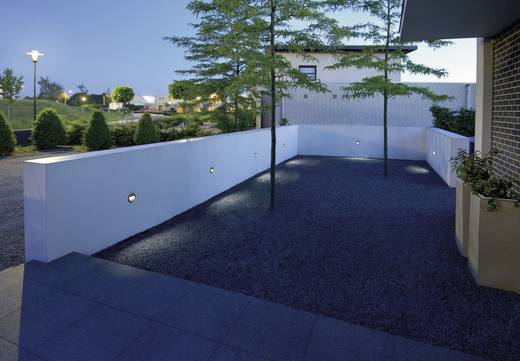 LED-Außeneinbauleuchte 0.7 W Neutral-Weiß SLV Downunder 230201 Stein-Grau