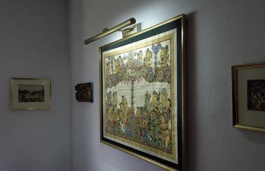 Bilderleuchte Leuchtstofflampe G5 13 W SLV 146583 Alt-Messing