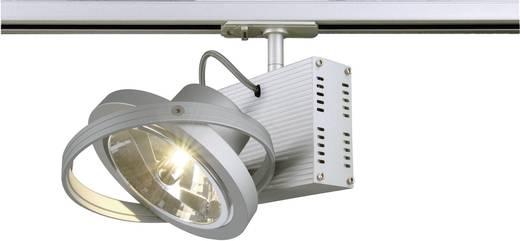 Niedervolt-Schienensystem-Leuchte 1phasig G5.3 50 W Halogen SLV TEC 1 143512 Silber-Grau