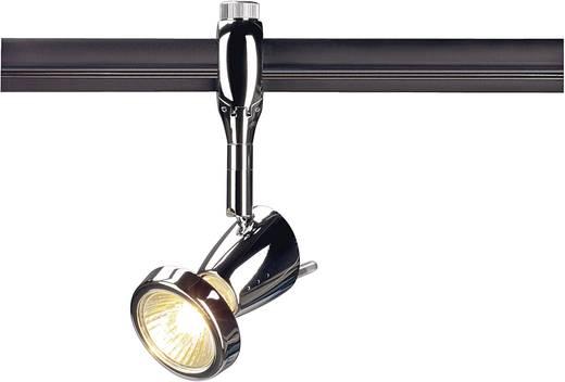 Hochvolt-Schienensystem-Leuchte Easy Tec II Chrom GU10 50 W SLV Siena Chrom