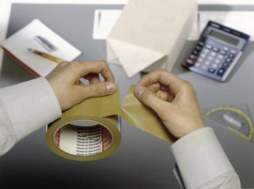Packband tesapack® Paper ecoLogo® Braun (L x B) 50 m x 50 mm tesa 55337-02-01 3 Rolle(n)