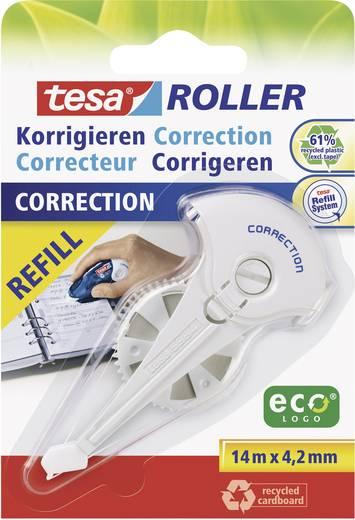 tesa Nachfüllkassette Korrekturroller ROLLER 59976 4.2 mm Weiß 14 m 1 St.