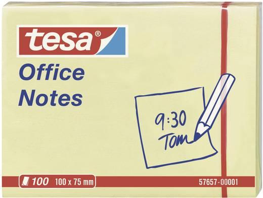 tesa® Haftnotiz Office Notes 57657-00001 100 x 75 mm Gelb 100 Bl.