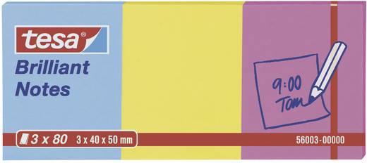 tesa 56003 56003-00-00 Blau, Gelb, Pink 1 Set (L x B) 50 mm x 40 mm