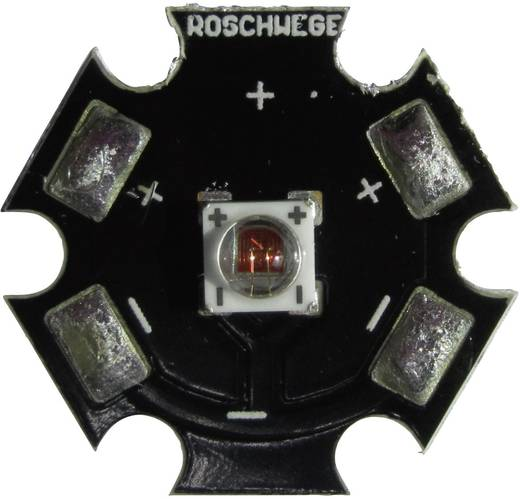 HighPower-LED Tief-Rot 5 W 2.8 V 1500 mA Roschwege Star-DR660-05-00-00