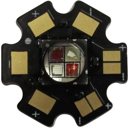 HighPower-LED Amber 10 W 420 lm 10 V 1000 mA Star-AM595-10-00-00