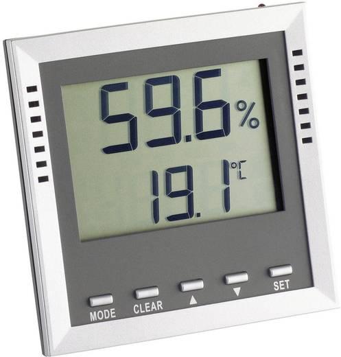 Thermo-/Hygrometer TFA Klima Guard Silber