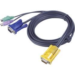 KVM prepojovací kábel ATEN 2L-5202P, 1.80 m, čierna