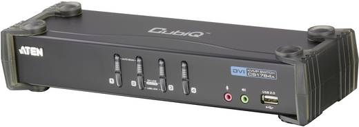 4 Port KVM-Umschalter DVI USB 1920 x 1200 Pixel CS1764A-AT-G ATEN