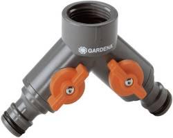"""2cestný rozdělovač 24,2 mm (3/4"""") vnitřní závit, rychlospojka GARDENA 938-20"""