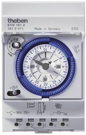 Hutschienen-Zeitschaltuhr Theben 1610011