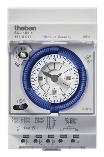 Hutschienen-Zeitschaltuhr Theben 1810011