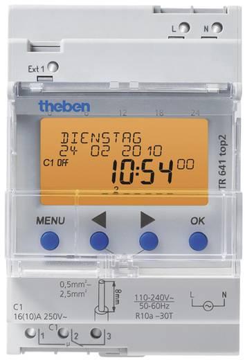 Hutschienen-Zeitschaltuhr Theben 6410100