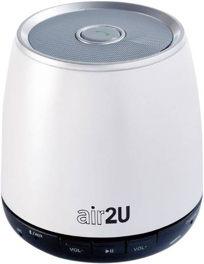 Aiptek AIR2U Musik Speaker E12 perlweiß Weiß