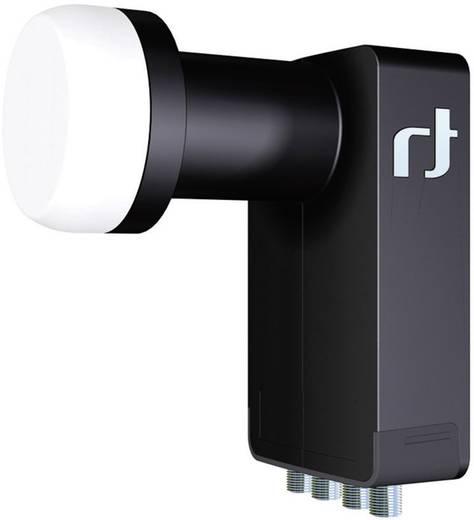 Quad-LNB Inverto BLACK Ultra Teilnehmer-Anzahl: 4 Feedaufnahme: 40 mm mit Switch