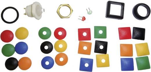 Drucktaster-Sortiment 12 V/DC 0.01 A 1 x Aus/(Ein) ITW 48-100028 IP67 tastend 1 St.