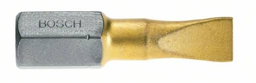 Schlitz-Bit 5.5 mm Bosch TiN, extra hart C 6.3 25 St.