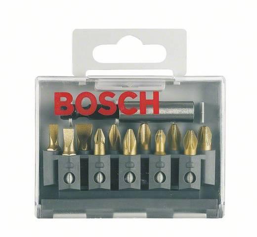 Bit-Set 12teilig Bosch Accessories 2607001924 Schlitz, Kreuzschlitz Phillips, Kreuzschlitz Pozidriv