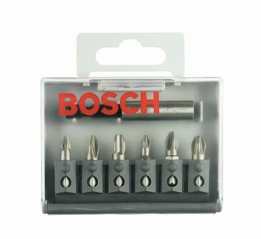 Bit-Set 7teilig Bosch 2607001942 Kreuzschlitz Phillips, Kreuzschlitz Pozidriv
