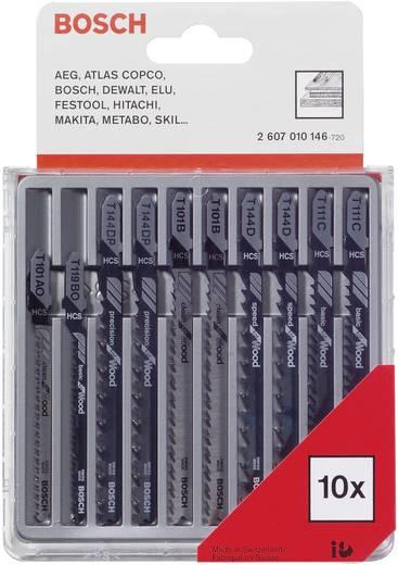 Stichsägeblatt-Set 10tlg. für Holz Bosch Accessories 2607010146 1 St.