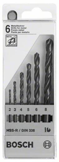 HSS Metall-Spiralbohrer-Set 6teilig Bosch Accessories 2607018352 rollgewalzt Zylinderschaft 1 Set